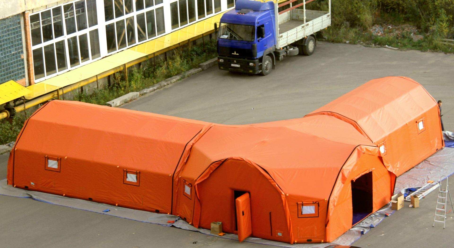 Палатка и переходник